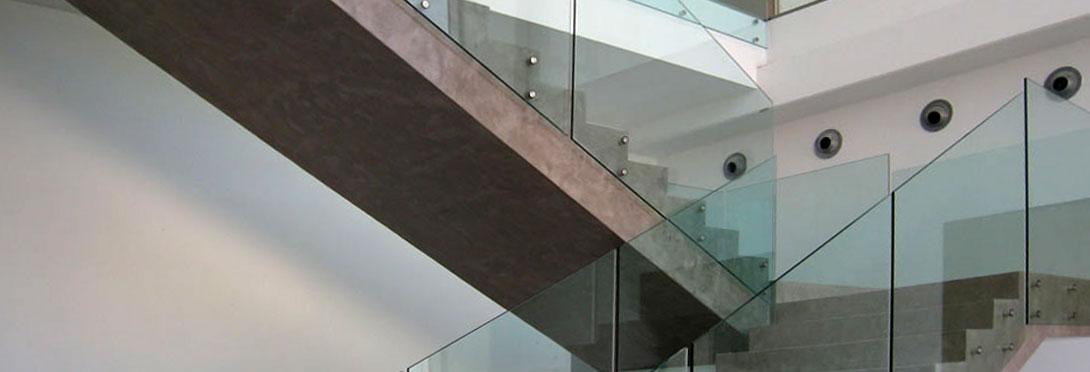 Barandillas de cristal vidreglass - Barandillas de obra ...