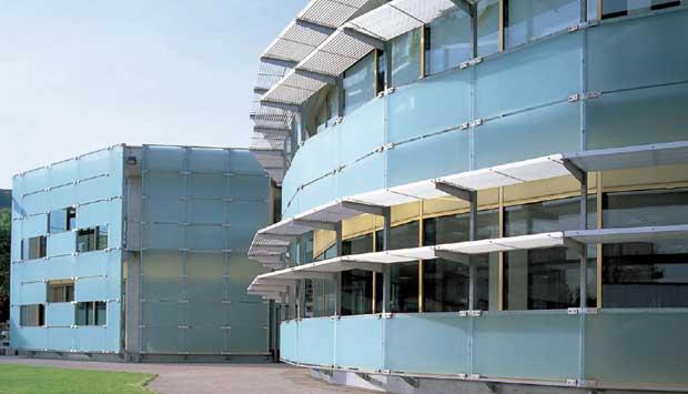 Fachadas y techos de cristal