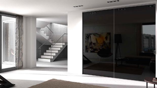 Puertas correderas de cristal y aluminio vidreglass for Puertas correderas diseno moderno