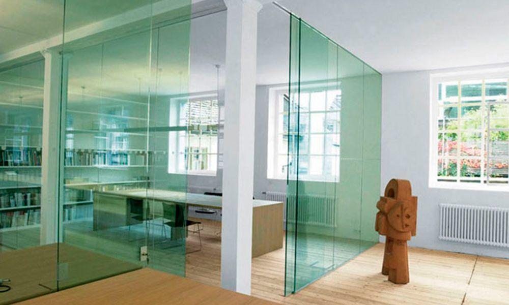 Puertas correderas de cristal grandes vidreglass - Puertas de cristal correderas para cocinas ...