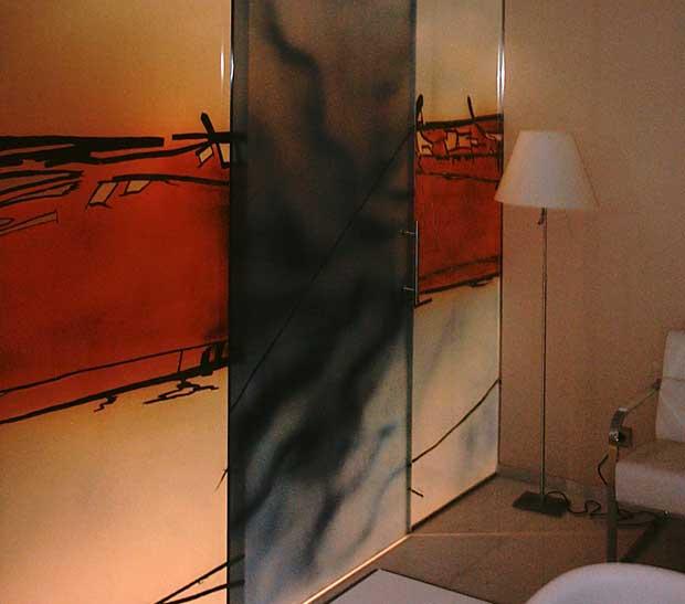 Serie de puertas de cristal Vidrepaint